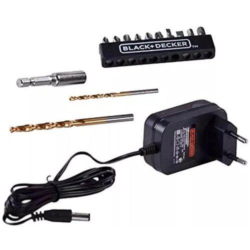 Parafusadeira-e-Furadeira-de-3-8--Pol.-LD12S-a-Bateria-12V---13-Acessorios---BLACK---DECKER