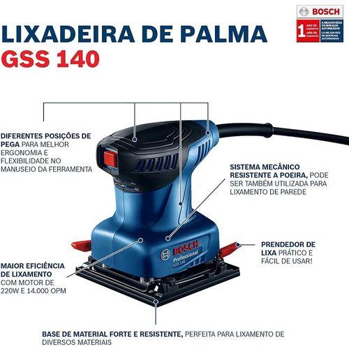 Lixadeira-Orbital-de-Palma-220w-GSS-140---3-Lixas---BOSCH