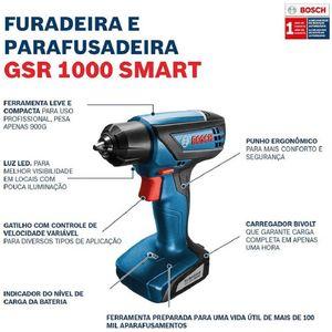 Parafusadeira-e-Furadeira-a-Bateria-12v-GSR-1000-Smart---Carregador-Bivolt---Maleta---BOSCH