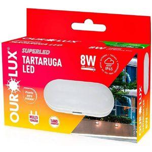 Luminaria-Led-Tartaruga-Oval-12w-BiVolts-2700k---OUROLUX