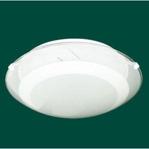 Plafon-Redondo-Silk-Branco-30cm-p-2-Lampadas---STILO