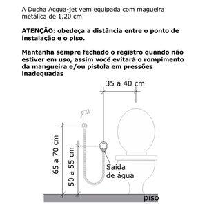 Ducha-Higienica-Goa-AcquaJet---FABRIMAR