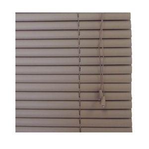 Persiana-Horizontal-PVC-25mm--80x160cm--Cafe-TFP6031---TOPFLEX