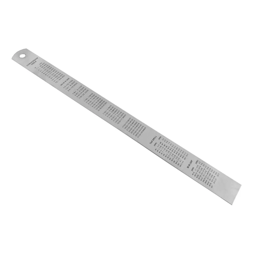 Regua-Escala-de-Aco-Inox-12--Pol.-300mm-2JH---EDA